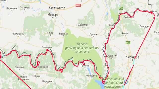 Держприкордонслужба спростувала інформацію про порушення повітряного простору Білорусі
