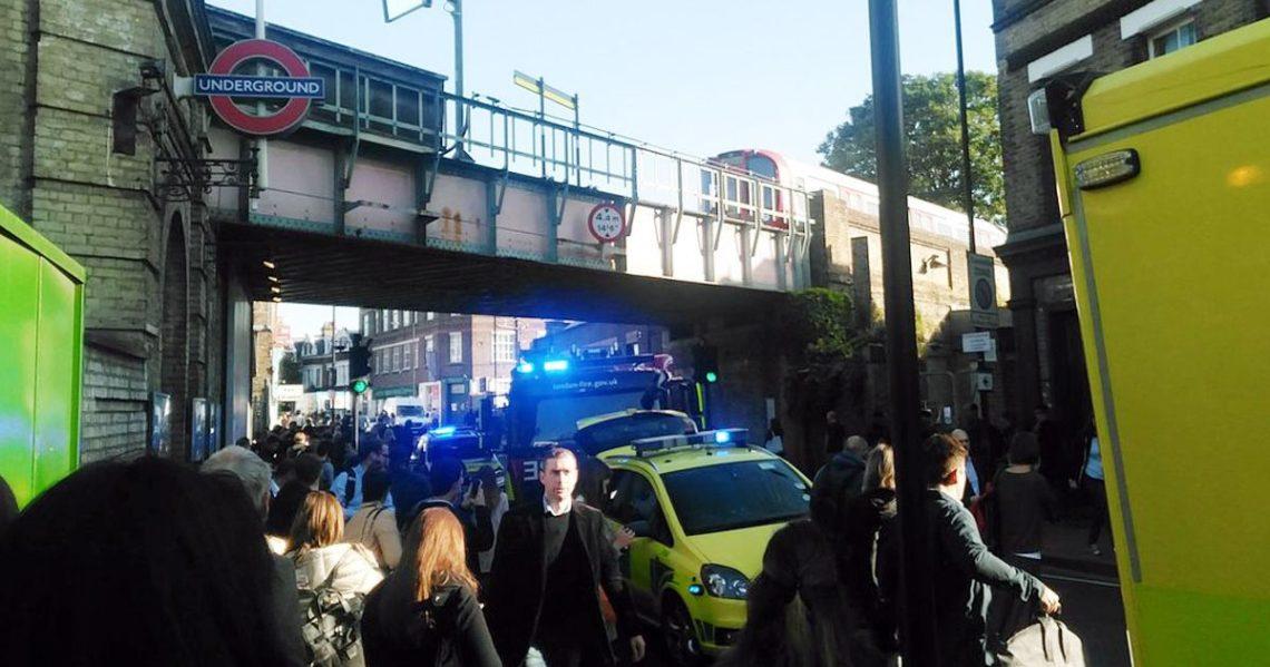 18 людей постраждали врезультаті вибуху вметро Лондона