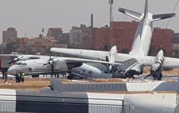 у судані зіткнулися літаки українського виробництва