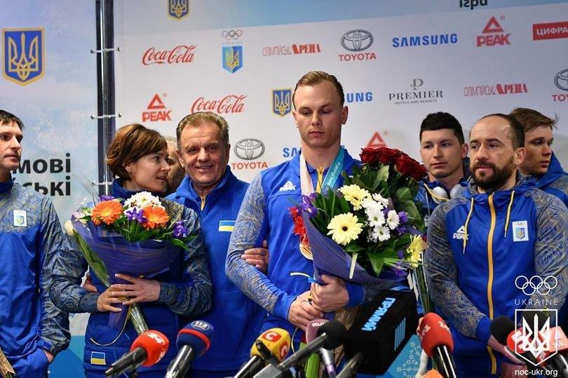 в аеропорту бориспіль зустріли українських спортсменів