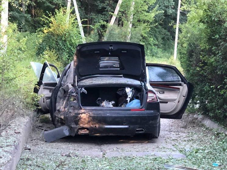 """у харкові вибухнув автомобіль гендиректора """"здоров'я"""""""