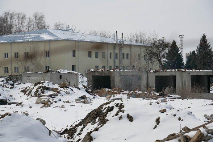 спецпідрозділи нацполіції провели обшуки на території заводу атек