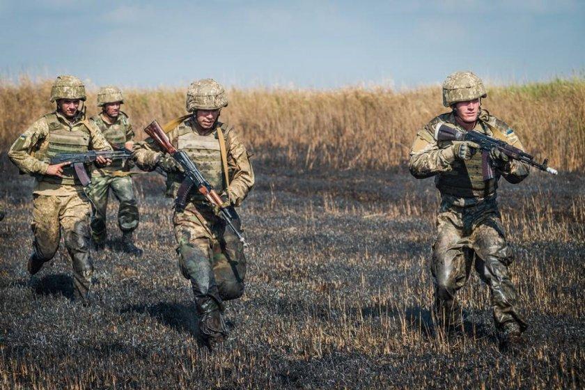 українські військові розгромили бойовиків