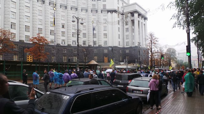протест у центрі києва