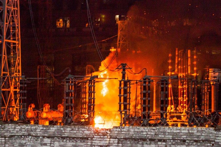 пожежа на придніпровській тес
