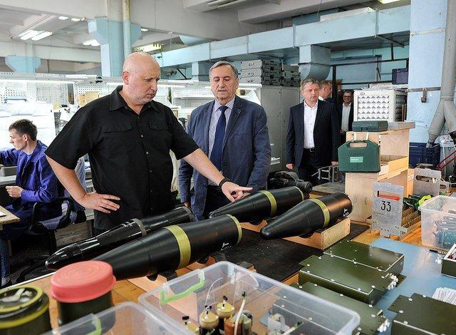 """турчинов вважає ракети кб """"луч"""" кращими, ніж російські аналоги"""