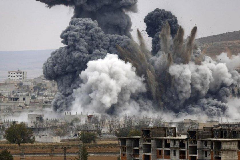 росія нанесла авіаудари по сирії