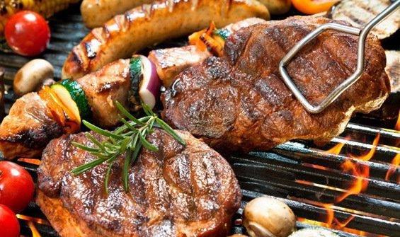 мясо на гриле