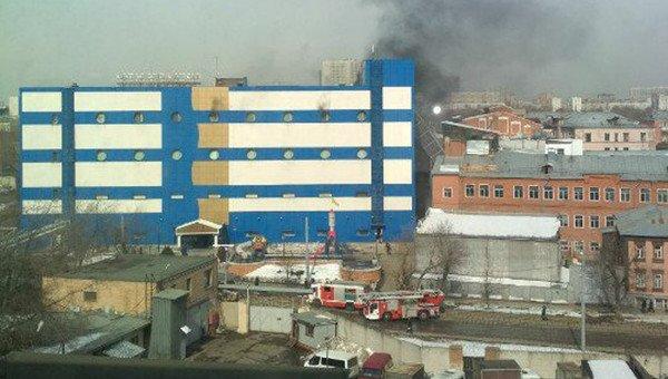 пожежа у московському тц