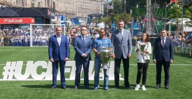 фанзона київ ліга чемпіонів фінал