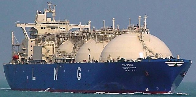 корабель із зрідженим газом