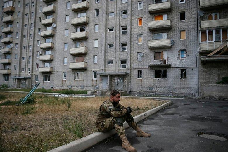 Война сентябрь 2018г гдзержинск украина