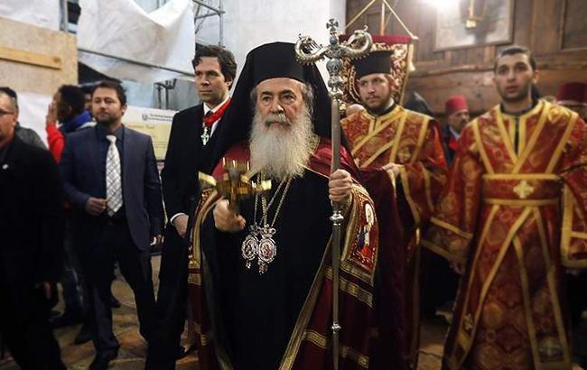 єрусалимський патріарх феофіл підтримав константинопіль