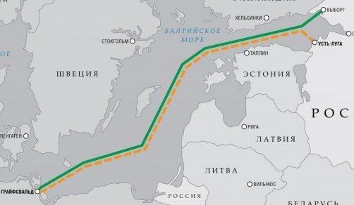 північний потік 2 росія