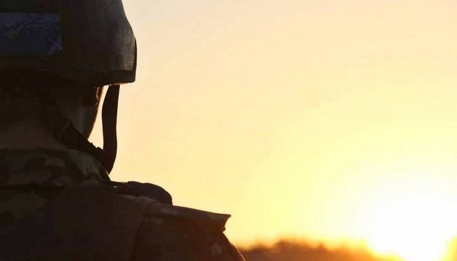військовий на донбасі