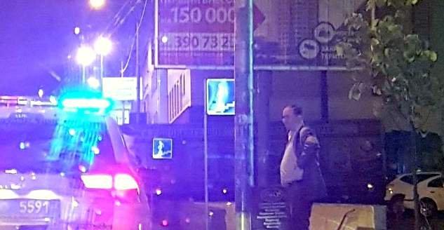 поліція зупинила п`яного консула рф в києві