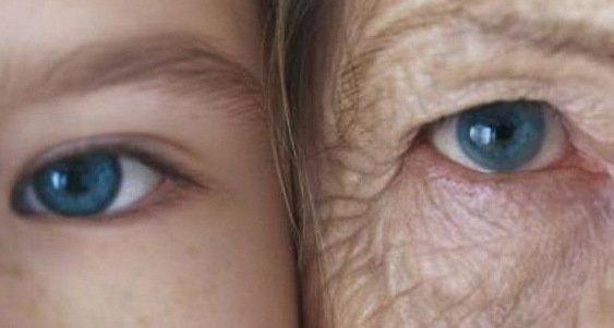 людина починає старіти у 39 років