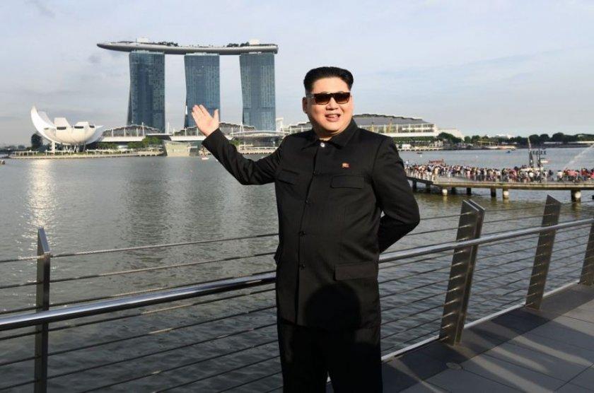 у сінгапурі затримали двійника кім чен ина