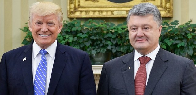 трамп та порошенко