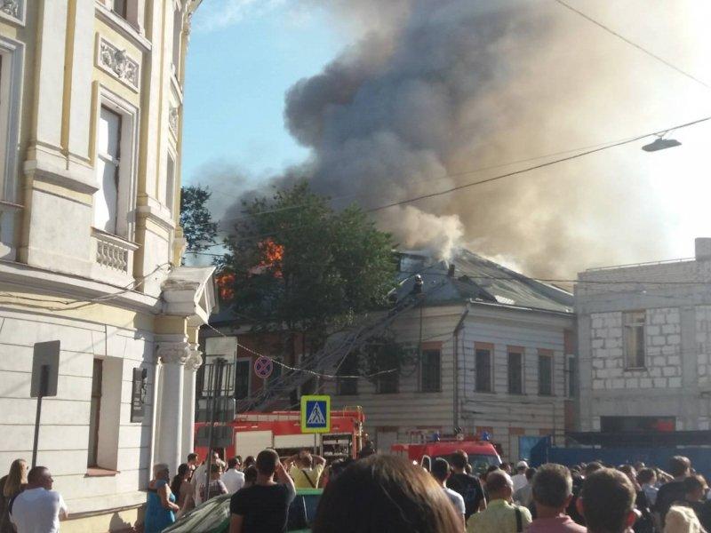 у харкові ліквідували велику пожежу