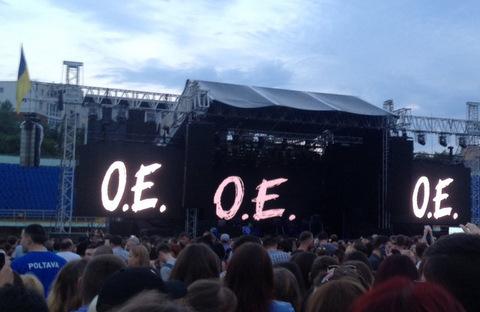 Концерт «Океану Ельзи» уПолтаві ледь не зірвався: уВакарчука пропав голос