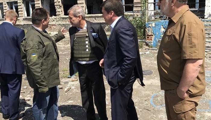 ЄС планує надати ще50 млн євро на відновлення Донбасу