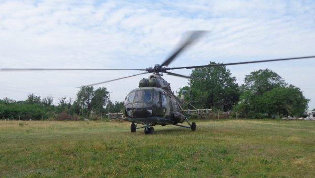 Одним днем живу вертолет
