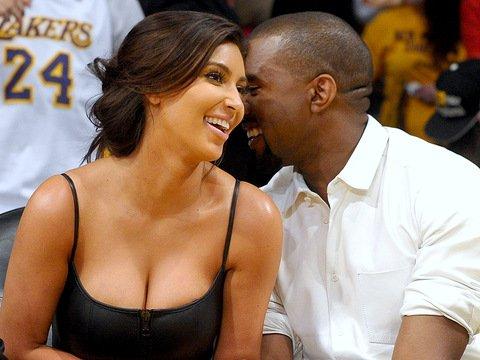 Kanye west and kim kardashian start dating